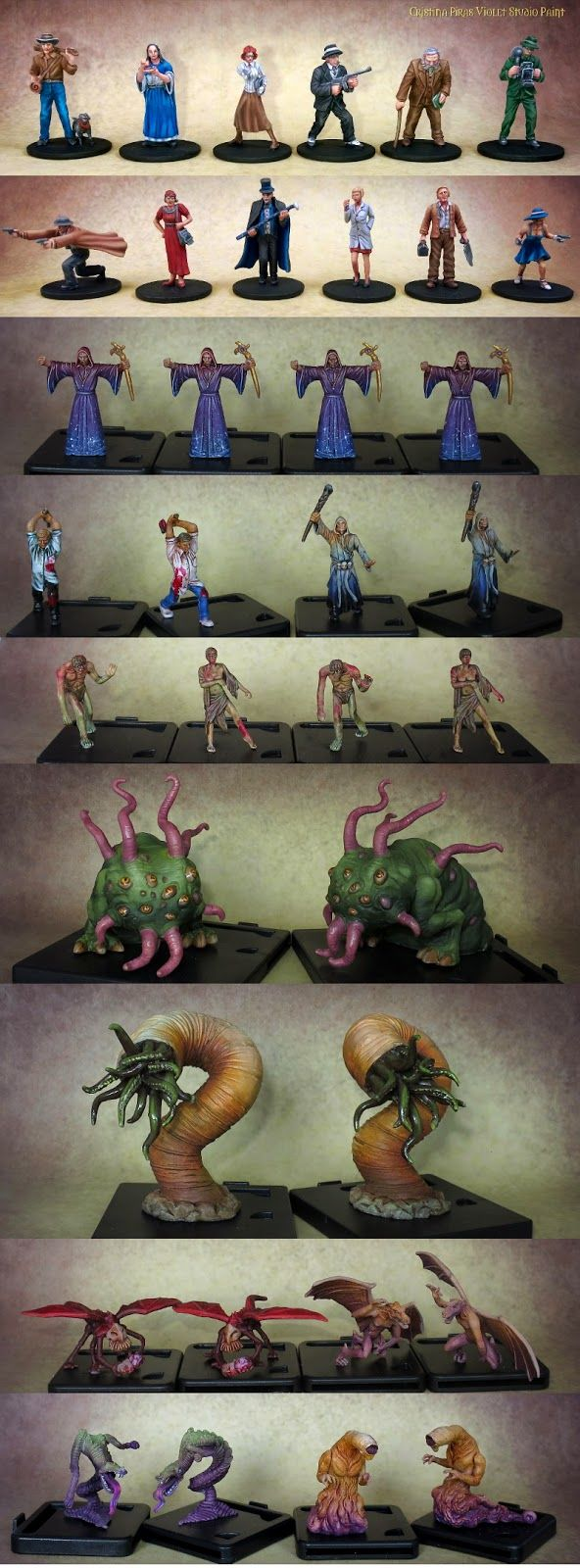 VIOLET  STUDIO  PAINT: Mansion of Madness