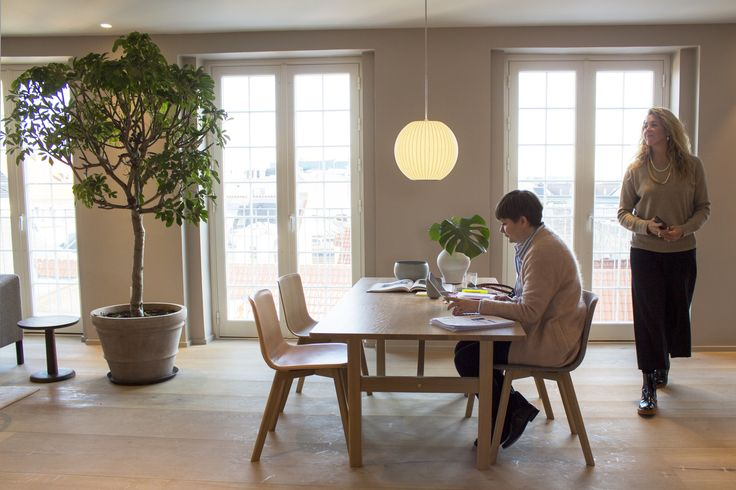 THE FREDERICIA STAFF IN THEIR EVERYDAY WORKING ENVIRONMENT!