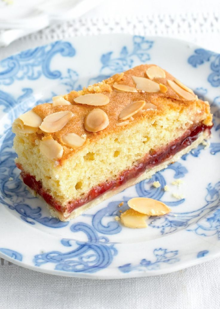 MARY BERRY'S Bakewell Slices - The Happy Foodie
