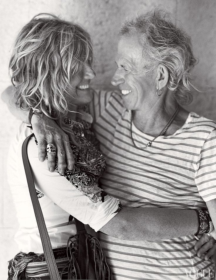 Anything Goes: Keith Richards and Patti Hansen – Photos – Vogue - Vogue