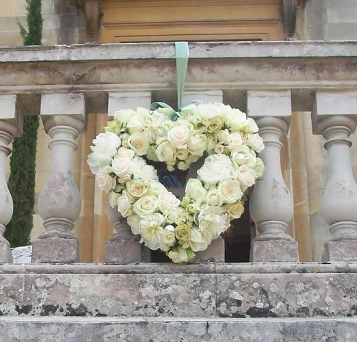 Peony and Rose Heart Wreath- perfect wreath for valentines day on my front door