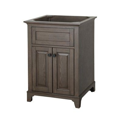 Pic Of Shop allen roth Specialty Grey Flintshire Contemporary Bath Vanity at Lowe us Canada Find our selection of bathroom vanities at the lowest price