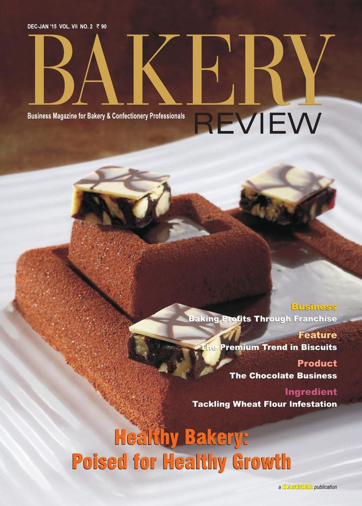 Bakery Review ( Dec-Jan 2015)  In this issue, we have explored the growing trend of healthy bakery products in urban India, which is influenced by increased disposable incomes in select pockets of society and growing health consciousness. The trend has the potency to change the character of the Indian bakery industry for the better. Franchising is an effective and comparatively quicker route to success for new players willing to make a foray into the Indian bakery industry. Franchising…