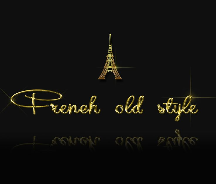 Gold Paris with the Eiffel Towel:)