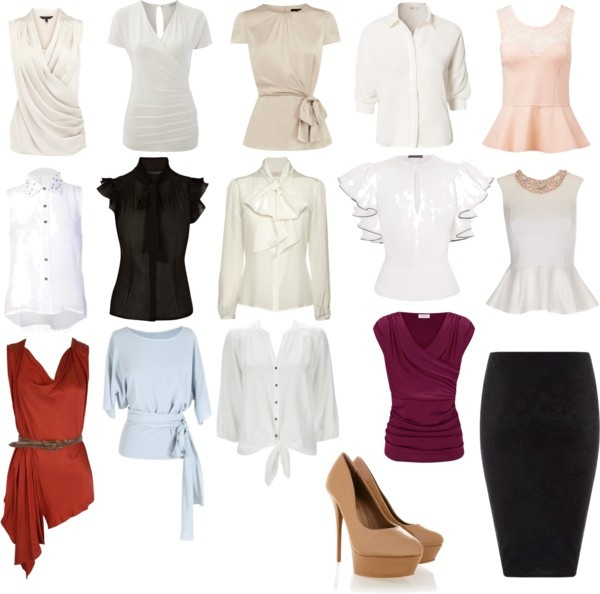 """Corporate attire"" by clairermtmd on Polyvore"