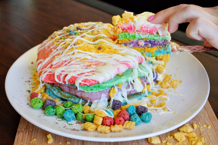 These Cap'n Crunch Berry Pancakes Are the Perfect Wake up Call More