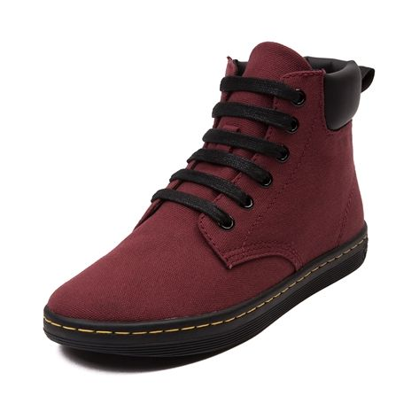Shop for Womens Dr. Martens Maelly Boot in Cherry Red Black at Journeys Shoes.