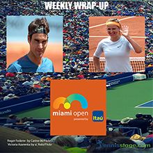 Hello all, too busy to keep up with the latest tennis news happening this week?  No worries. We have you covered. Here is our Tennis Stage summary for the week ending Sunday, March 26th.