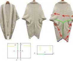Картинки по запросу выкройка прямого пальто без воротника