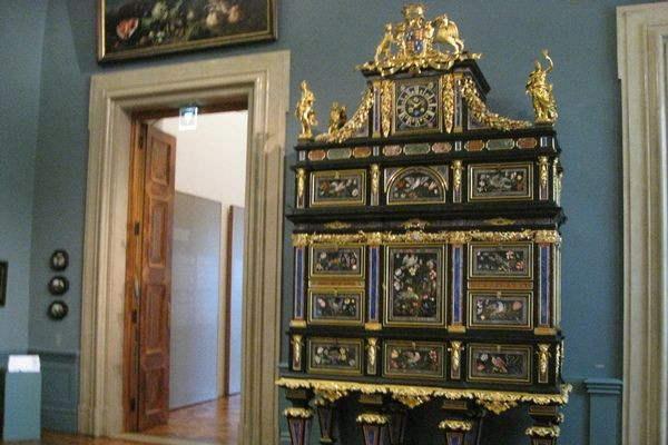 The Badminton Cabinet Or Badminton Chest Was