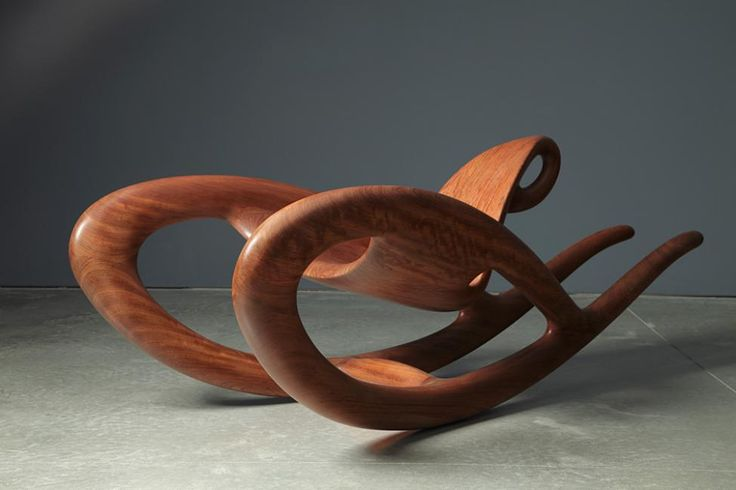Wendell Castle rocking chair