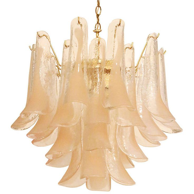A.V. Mazzega Murano Glass Chandelier | From a unique collection of antique and modern chandeliers and pendants  at https://www.1stdibs.com/furniture/lighting/chandeliers-pendant-lights/
