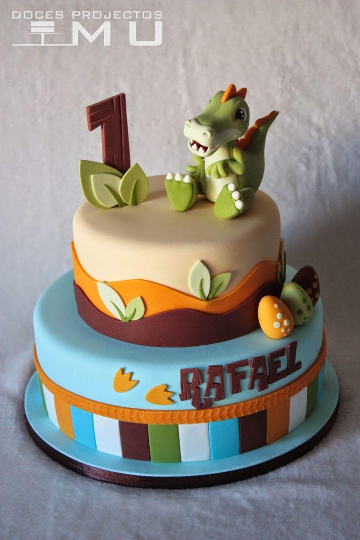 641 Best Dinosaur Cakes Images On Pinterest Dinosaur