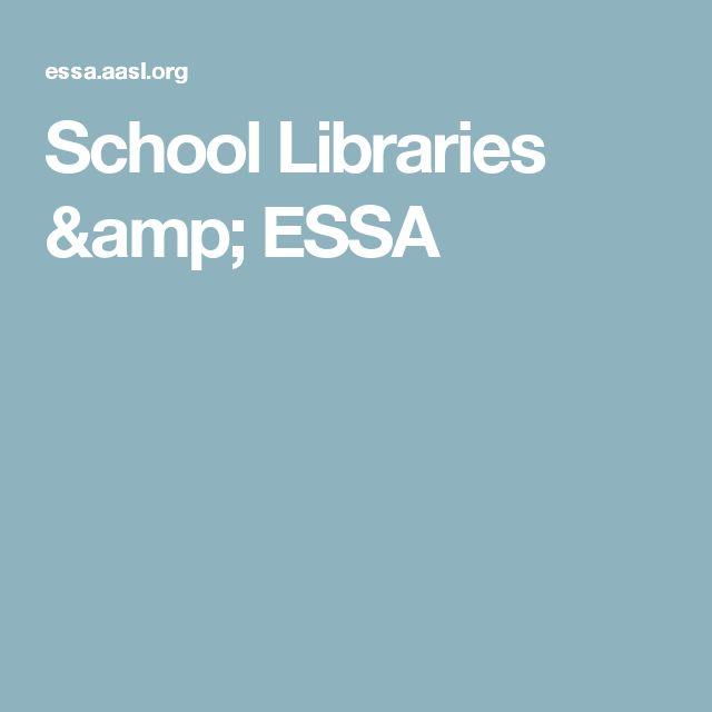 School Libraries & ESSA