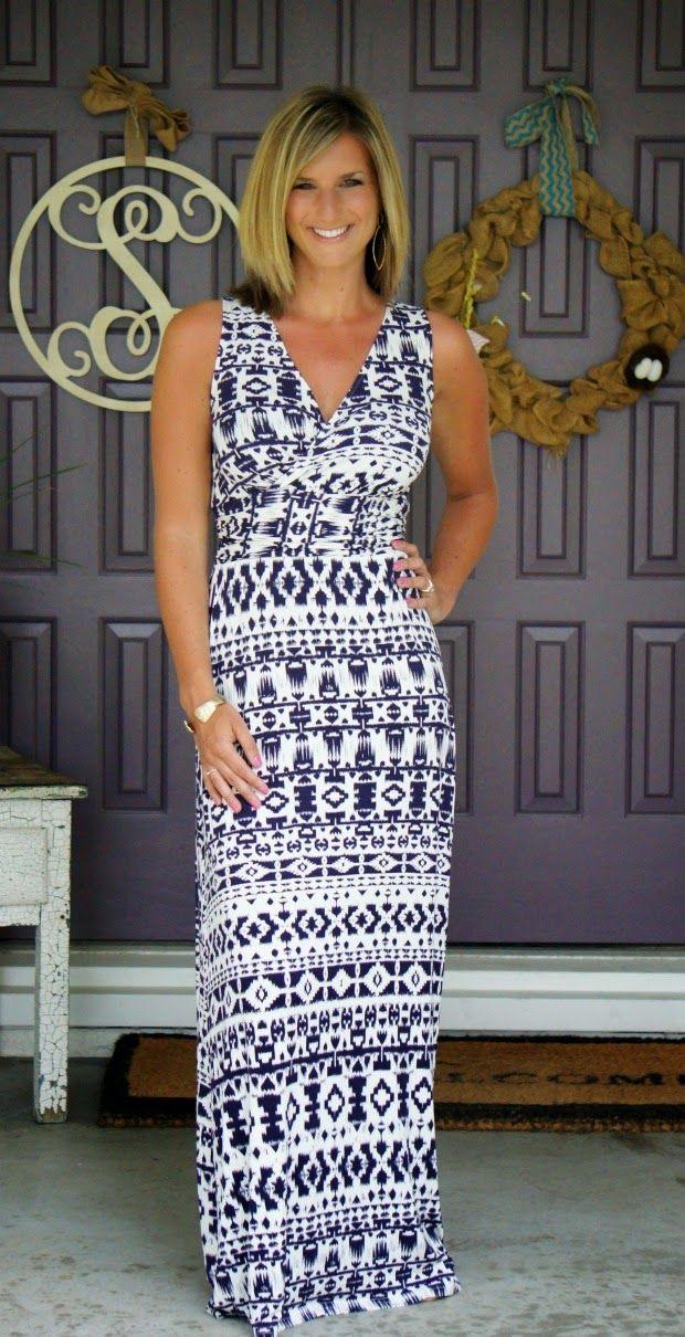 Market & Spruce Persia Maxi Dress @stitchfix #stitchfix