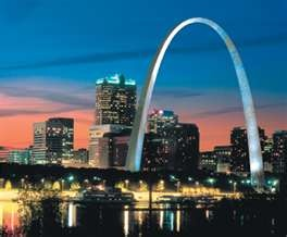 Go up in the St. Louis Arch