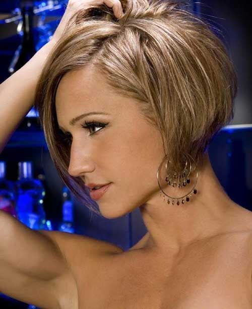 35 Short Stacked Bob Hairstyles | http://www.short-haircut.com/35-short-stacked-bob-hairstyles.html #WedgeHairstylesStacked