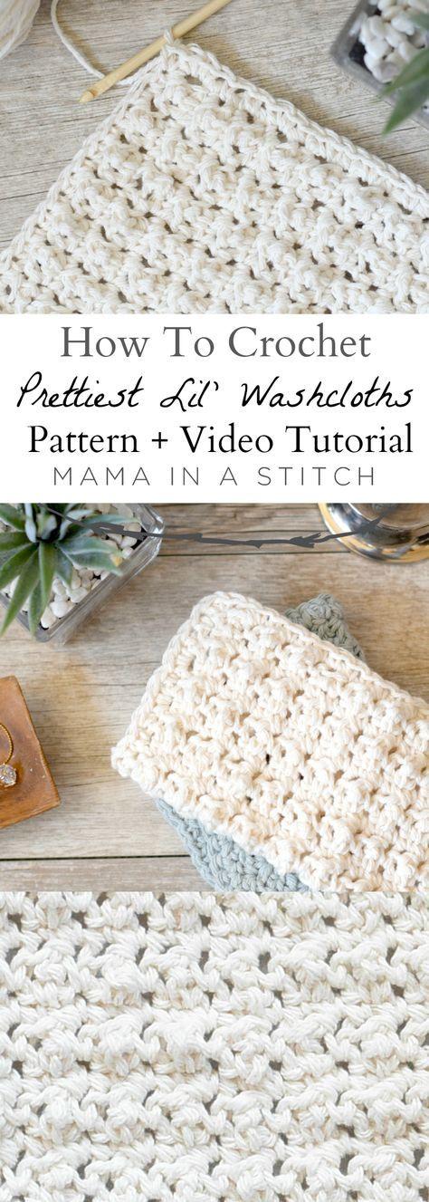 Prettiest Lil' Crocheted WashclothsCindy Shaw