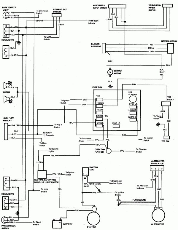 1972 Chevelle Wiring Diagram Pdf