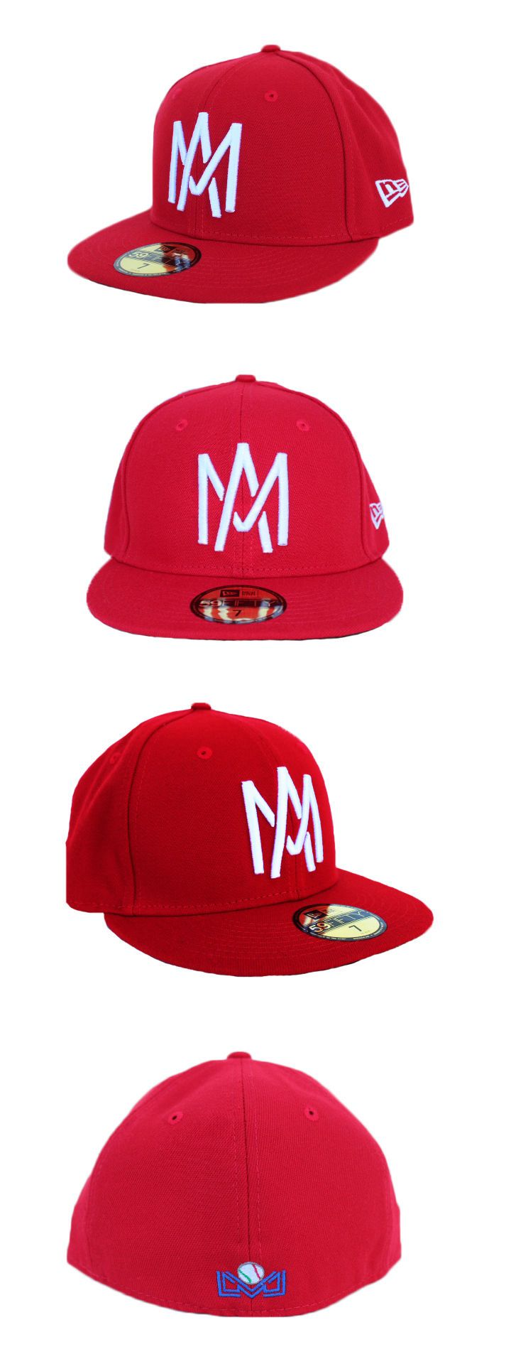 Baseball-Other 204: Aguilas De Mexicali Lmb New Era 59Fifty Scarlet Red -> BUY IT NOW ONLY: $49.95 on eBay!