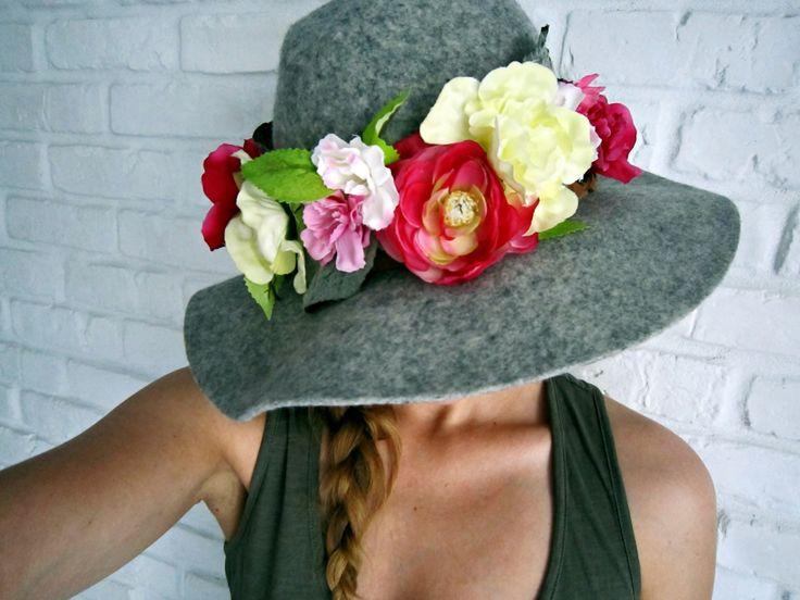 DIY flowers crown 7 - lilmissboho.com