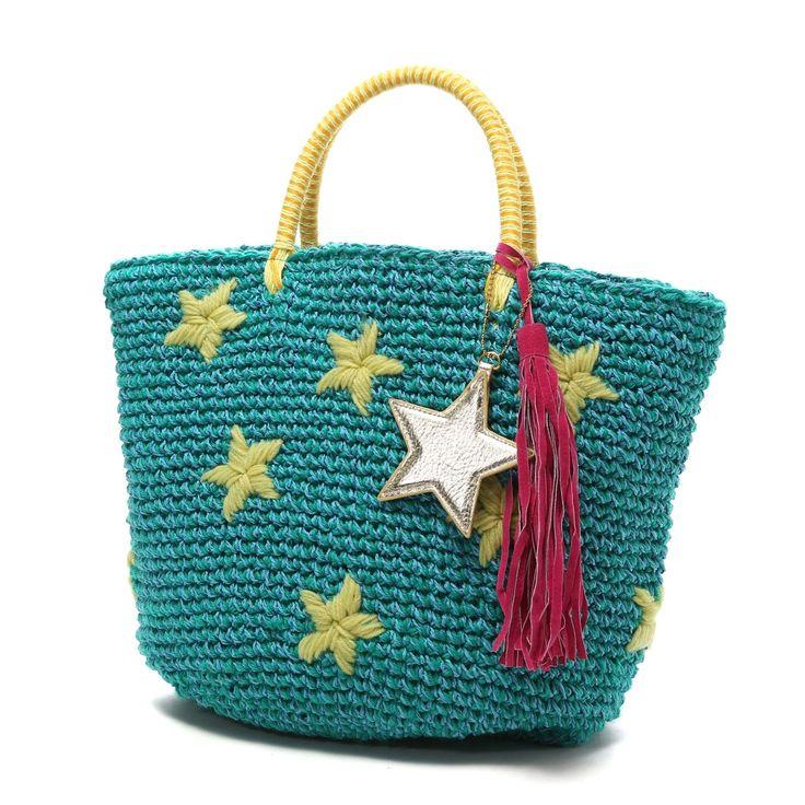 crochet embroidery bag
