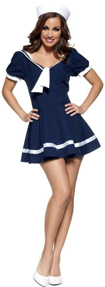 28.99 Womens Sassy Sailor Girl Costume Sexy Sailor Costumes - Mr. Costumes