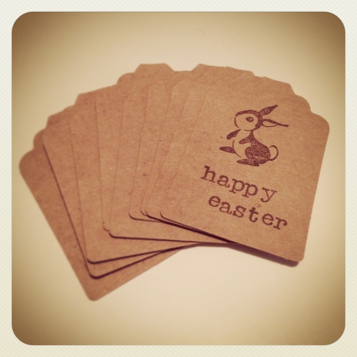 easter gift tags.