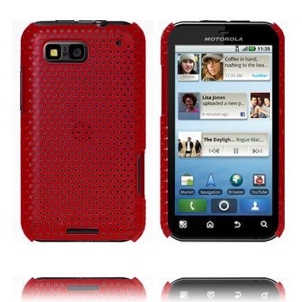 Atomic (Rød) Motorola Defy Deksel