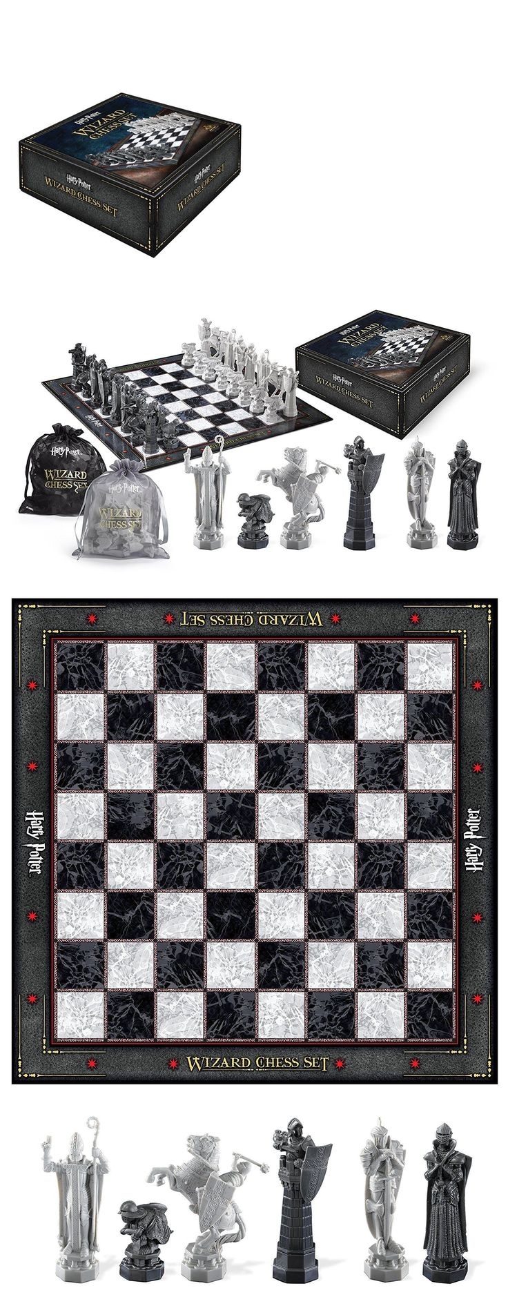 Contemporary Chess 40856: Noble Collection Harry Potter Wizard Chess Set Nn7580 Board Game Kit New * -> BUY IT NOW ONLY: $47.69 on eBay!
