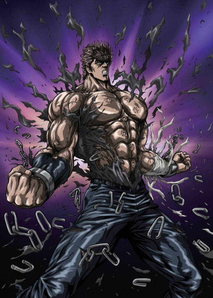 Anime Characters Using Fist : Best fist of the north star images on pinterest
