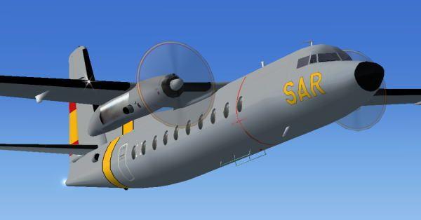 FAE Fokker F27 Mk200 SAR
