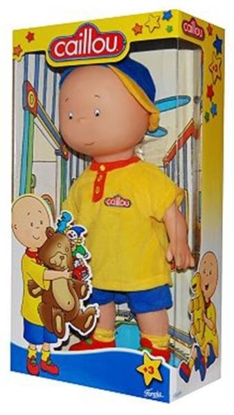 Caillou doll -- I want this to add to my collection!!