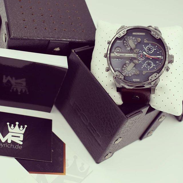 DIESEL DZ7314 | @MyRich.de #diesel #dieselwatch #watch #style #dz7314 #uhr #trend #Life #chronograph #lifestyle #brand #luxus #juwelry #luxury #unisex #blogger #timezone #special #leather #genuineleather #big #bigwatch #xxl #gun #grey #blue #braun #men #accessories