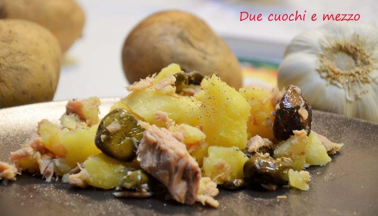 insalata fredda di patate e tonno