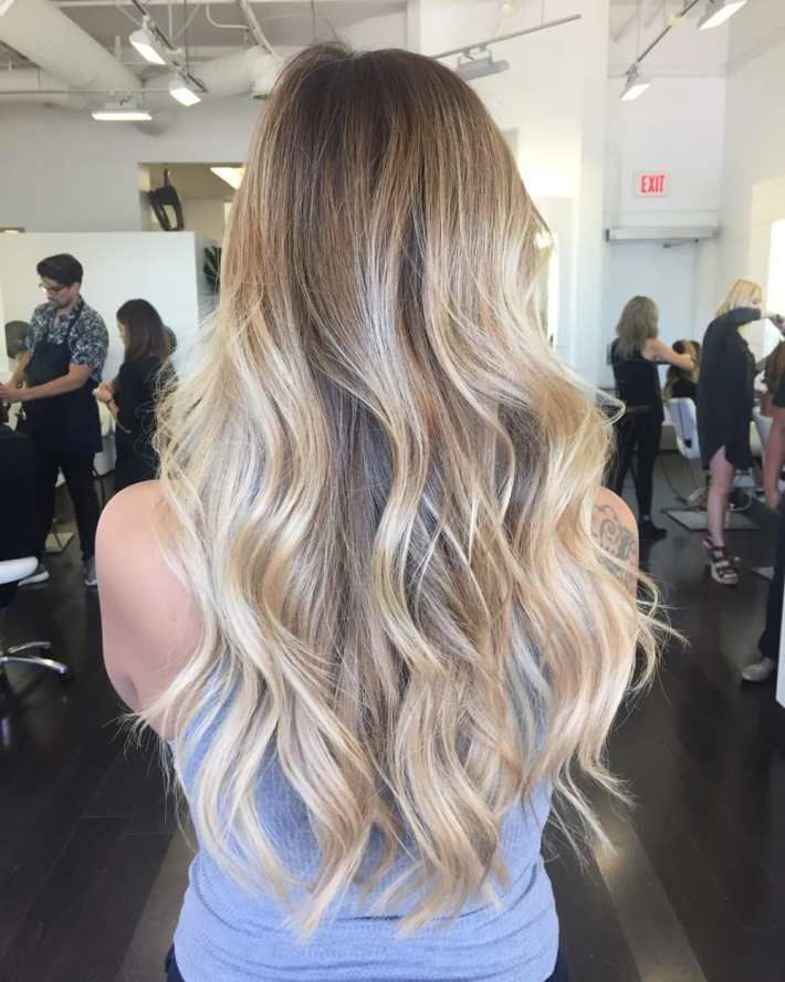 shoes casual blonde balayage for brown hair