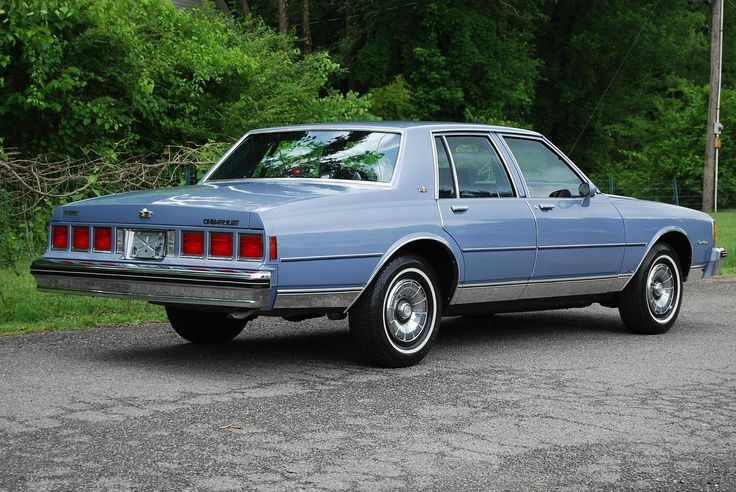 1984 Chevrolet Caprice Classic In Light Royal Blue Poly 5