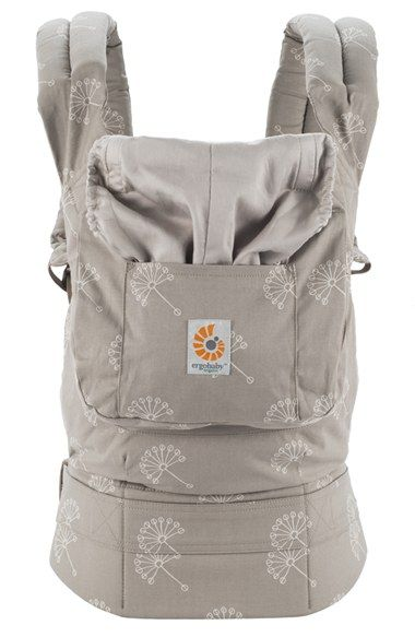 ERGObaby 'Dandelion' Organic Cotton Baby Carrier (Baby) available at #Nordstrom