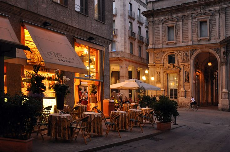 Caffe mercanti in milan italy photo by bethany nauert for Best coffee in milan