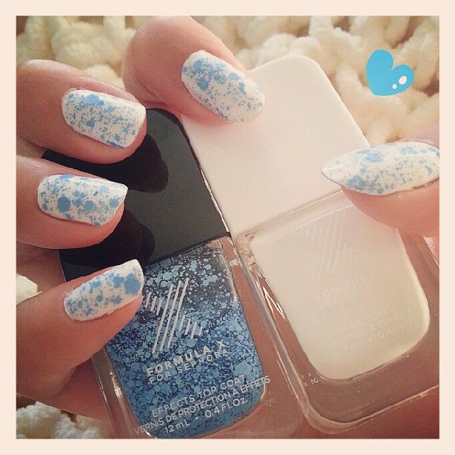 """bluepimperne's #FormulaX nails! Show us your """"X"""" tips—tag your nail photos with #FormulaX to be featured on our social sites!"""