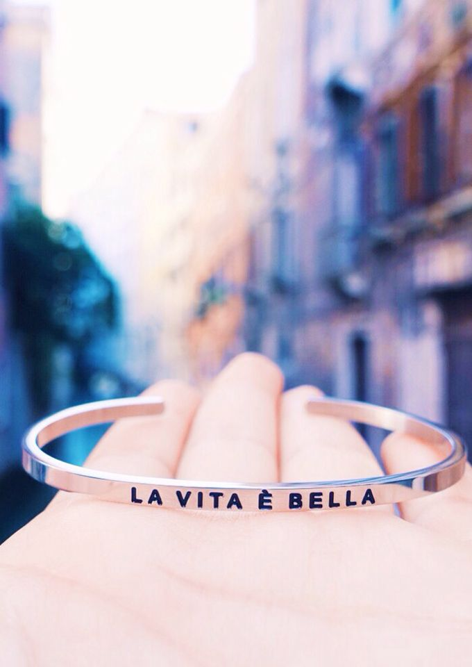 La vita e belle- life is beautiful! Yes it is! #giftsforher