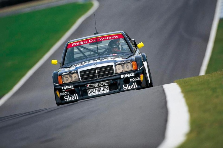 Mercedes-Benz scored 50 DTM victories with the AMG Mercedes 190E between 1988 and 1993.