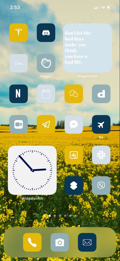 Blue And Yellow Ios 14 Aesthetic 300 Ios14 App Icons Live Etsy In 2021 App Icon Live Wallpaper Iphone Wallpaper App