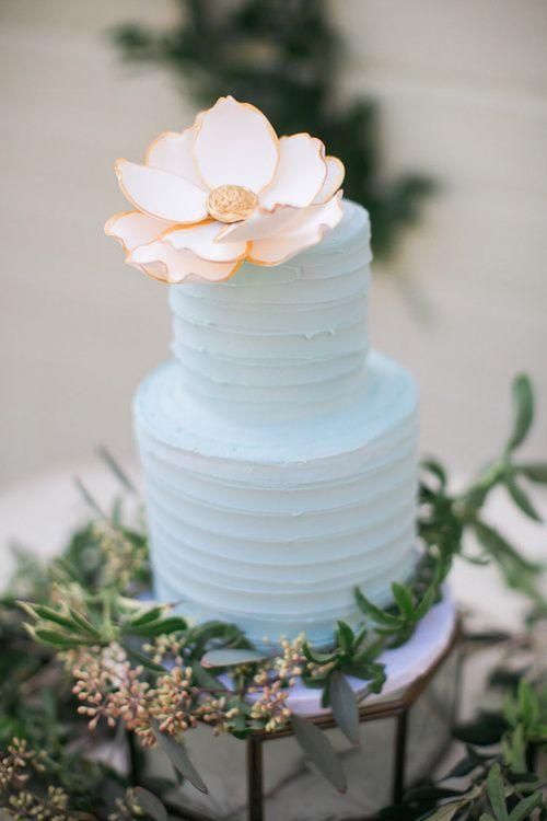 Die besten 25+ Pastel blue hexagon wedding cakes Ideen auf - deko ideen hexagon wabenmuster modern