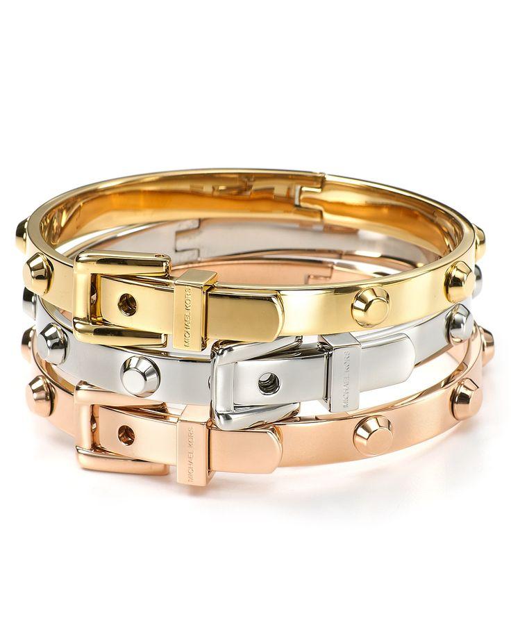 Michael Kors Buckle Bracelets |=