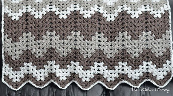 Free Chevron Crochet Pattern Roundup - Katie's Crochet Goodies