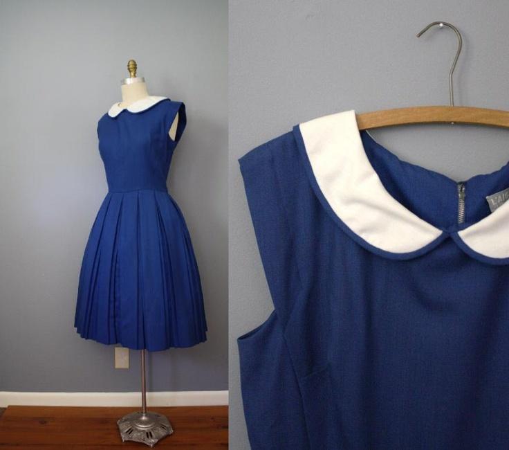OMG!!!!! I NEED a dress just like this!!!!  1950's Grade School Teacher dress by CapriciousTraveler