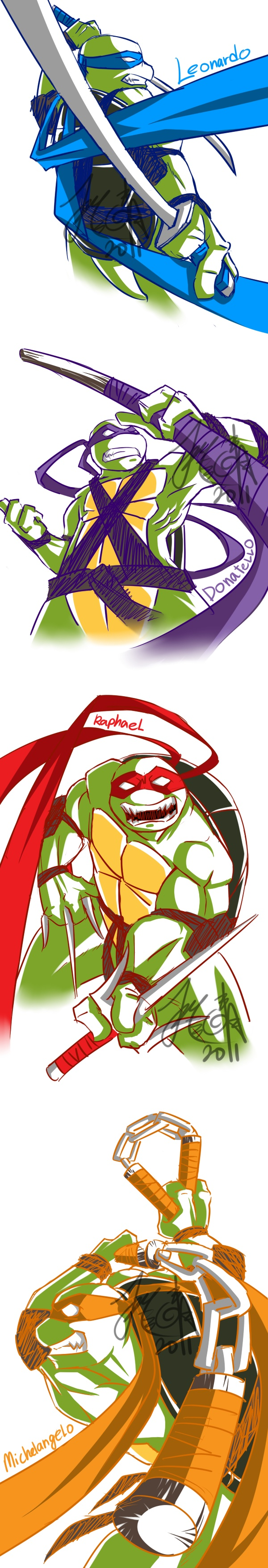 TMNT. I wanna draw this for my best friend :]