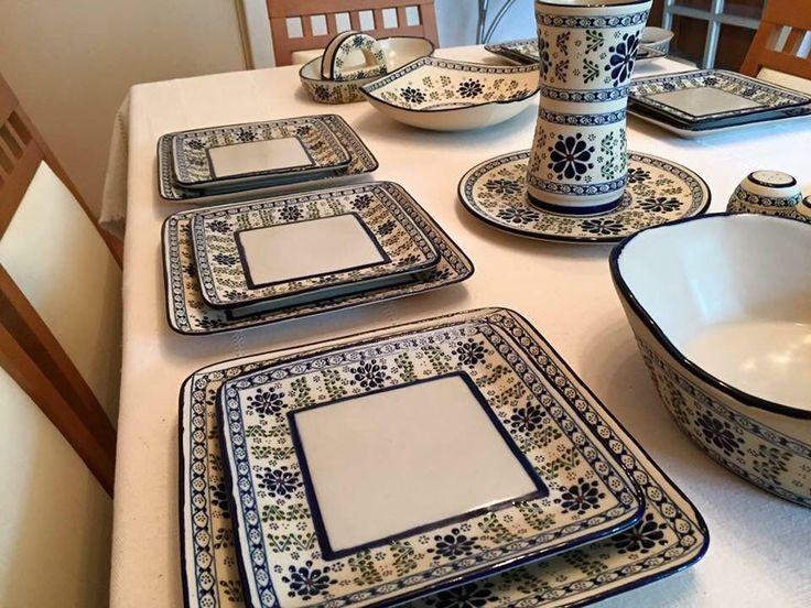 Vajilla cerámica mexicana.