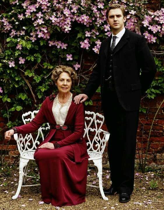 Downton Abbey (Matthew and His Mum Dowager Countess of Grantham)